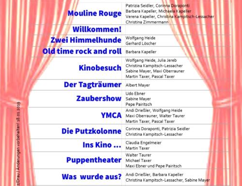 Großes Kino 2019